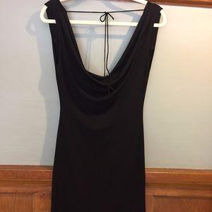 Spense Front/Back drape LBD